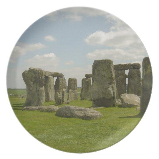Stonehenge Melamine Plate