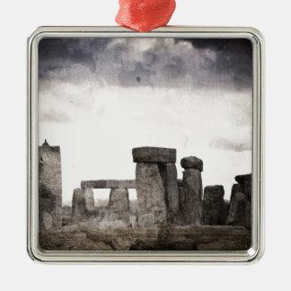 Stonehenge Metal Ornament