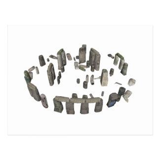 Stonehenge: modelo 3D: Postales