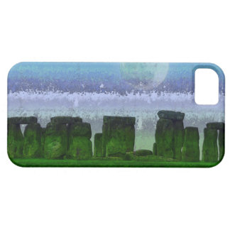 Stonehenge & Moon Ancient Historic Site of Power iPhone 5 Covers