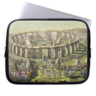 Stonehenge, o un templo circular de los druidas, p manga computadora