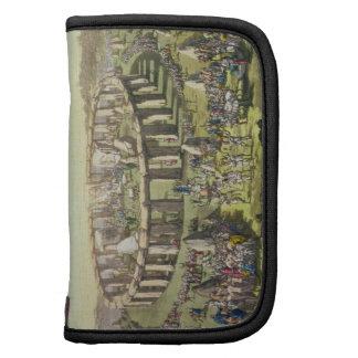 Stonehenge, o un templo circular de los druidas, p planificador