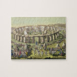 Stonehenge, o un templo circular de los druidas, p puzzle