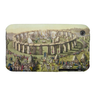 Stonehenge, or a Circular Temple of the Druids, pl iPhone 3 Case-Mate Case