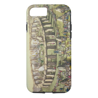 Stonehenge, or a Circular Temple of the Druids, pl iPhone 8/7 Case