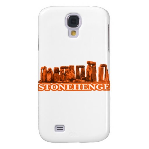 Stonehenge Orange transp The MUSEUM Zazzle Gifts Samsung Galaxy S4 Covers