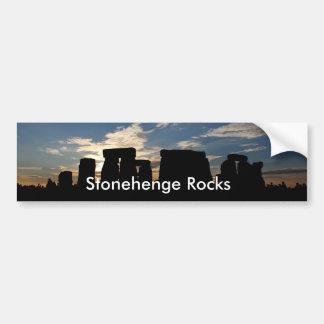Stonehenge oscila a la pegatina para el parachoque pegatina para auto