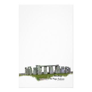 Stonehenge Personalized Stationery