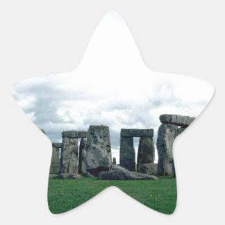 Stonehenge Pegatina En Forma De Estrella