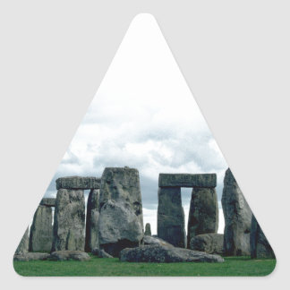 Stonehenge Pegatina Triangular