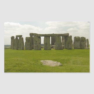 Stonehenge Rectangular Sticker