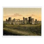 Stonehenge, Salisbury, England rare Photochrom Post Cards