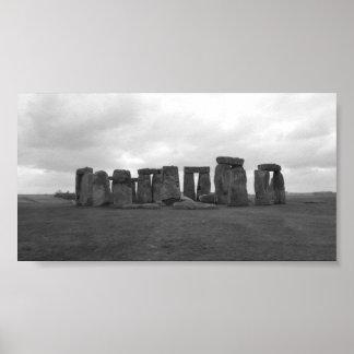 Stonehenge, Salisbury Plain Poster