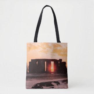 Stonehenge, solsticio de invierno bolsa de tela