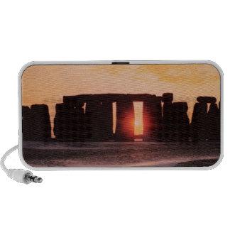 Stonehenge solsticio de invierno laptop altavoces