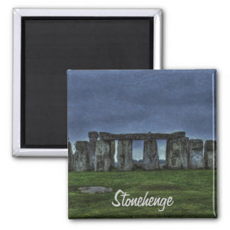 Stonehenge Standing Stones at Dusk Magnet