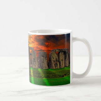 Stonehenge Standing Stones at Sunset Coffee Mug
