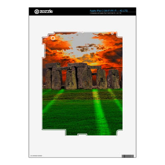Stonehenge Standing Stones at Sunset Decal For iPad 3