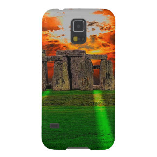 Stonehenge Standing Stones at Sunset Galaxy S5 Case
