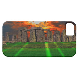 Stonehenge Standing Stones at Sunset iPhone SE/5/5s Case