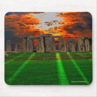 Stonehenge Standing Stones at Sunset Mouse Pad