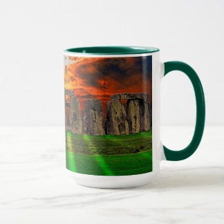 Stonehenge Standing Stones at Sunset Mug