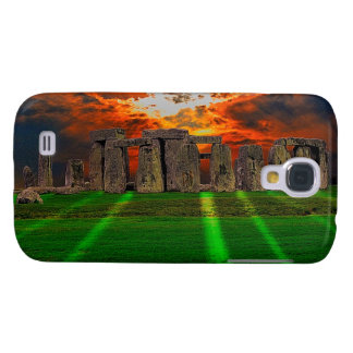 Stonehenge Standing Stones at Sunset Samsung Galaxy S4 Cover