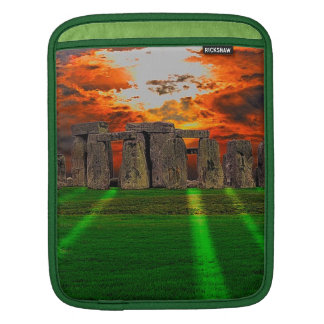 Stonehenge Standing Stones at Sunset Sleeve For iPads