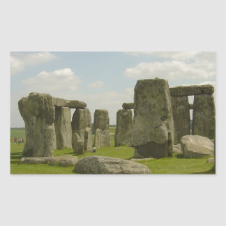 Stonehenge Rectangle Sticker
