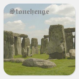 Stonehenge Square Stickers