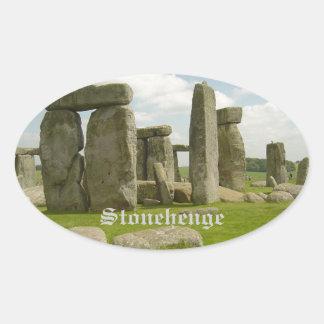 Stonehenge Oval Sticker
