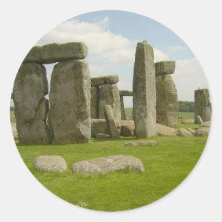 Stonehenge Round Stickers