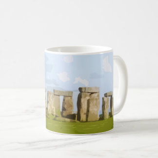 Stonehenge Stone Circle Detail Coffee Mug