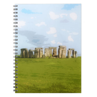 Stonehenge Stone Circle Monument Notebook