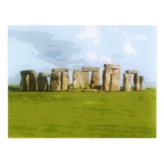 Stonehenge Stone Circle Monument Postcard