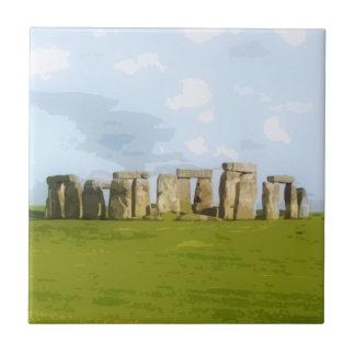 Stonehenge Stone Circle Monument Tile