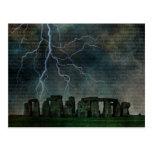 Stonehenge Storm Postcards