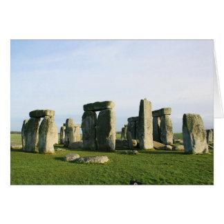 Stonehenge Tarjeta De Felicitación