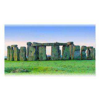 Stonehenge Tarjetas De Visita