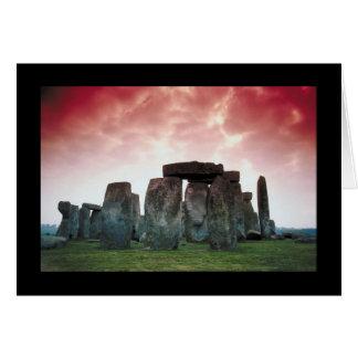 Stonehenge Tarjetón