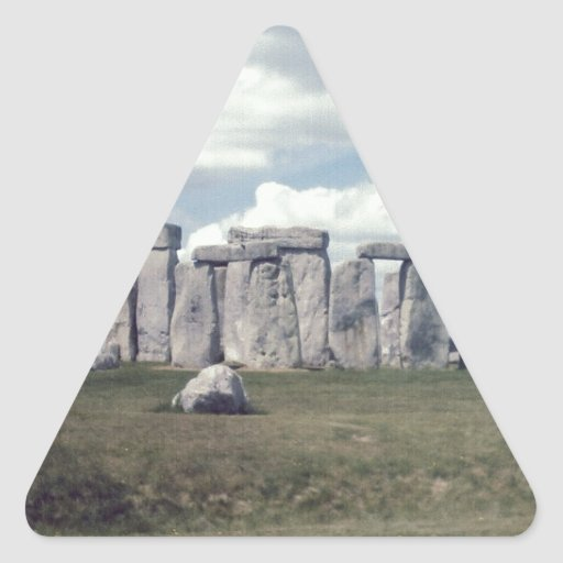 Stonehenge Triangle Sticker