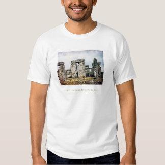 Stonehenge Watercolor Art Shirt