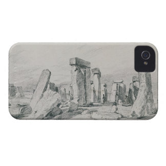 Stonehenge, Wiltshire, 1820 (drawing) iPhone 4 Cases