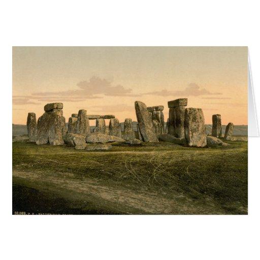 Stonehenge, Wiltshire, England Card