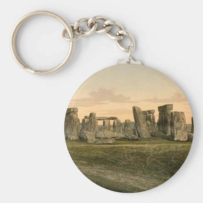 Stonehenge, Wiltshire, England Keychain