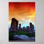 Stonehenge, Wiltshire, England Poster