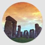 Stonehenge, Wiltshire, Inglaterra Etiquetas