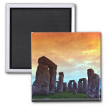 Stonehenge, Wiltshire, Inglaterra Imán Para Frigorífico