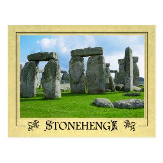 Stonehenge, Wiltshire, Inglaterra Tarjeta Postal