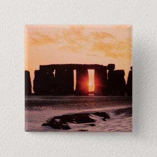 Stonehenge, Winter Solstice Button